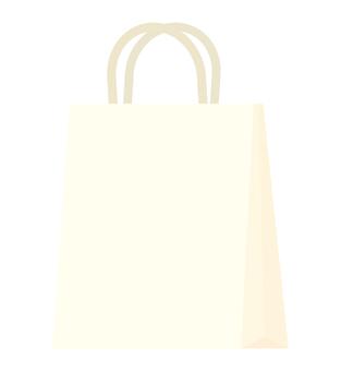 Paper bag (white)