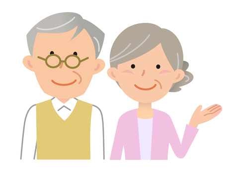 5910. Senior couple, information