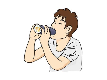 A man who eats Ehumaki