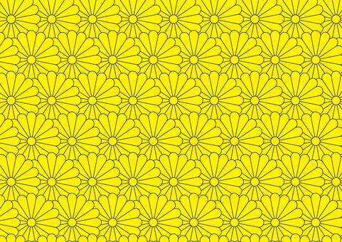 And handle (sixteen chrysanthemum) 2