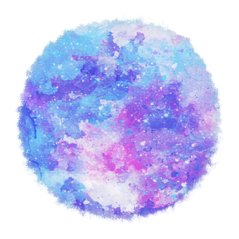 Watercolor circle 6