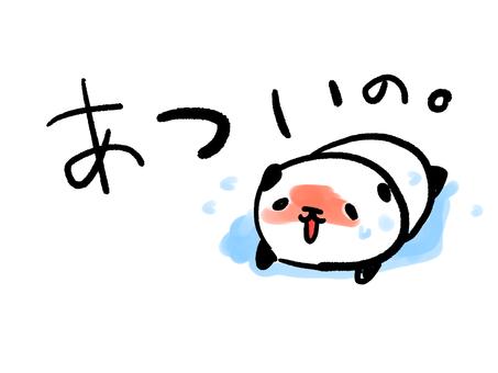 더운 팬더