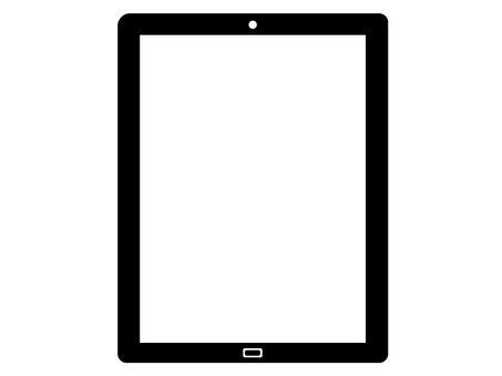 Tablet silhouette