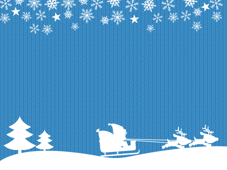 Christmas (knit background)