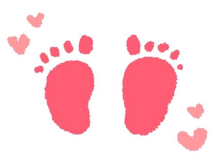 孩子的腳形
