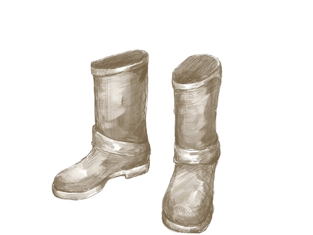 Boots (watercolor)