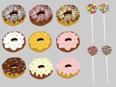 甜甜圈_套房_套餐_食品14