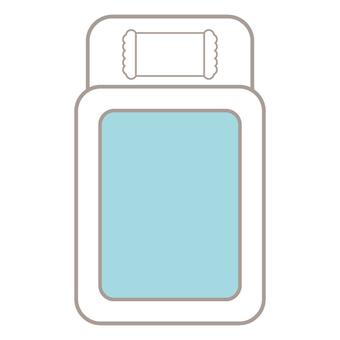 Image of futon (blue series)