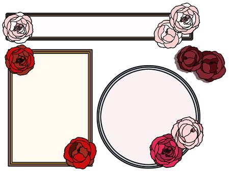 Rose frame 01