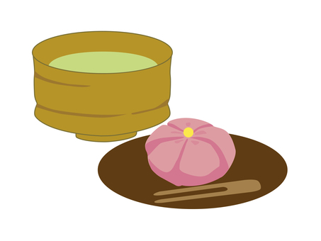 Matcha and Japanese confectionery