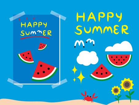 【炎熱的夏天】快樂的夏天
