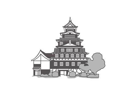 오카야마 성