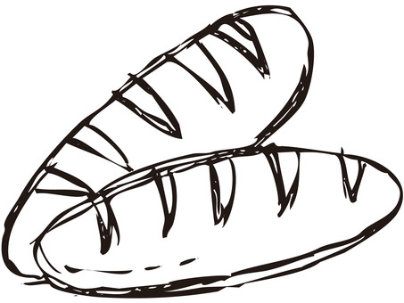 Bread (line drawing)