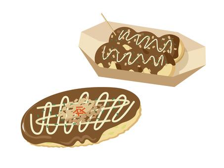 Okonomiyaki & Takoyaki