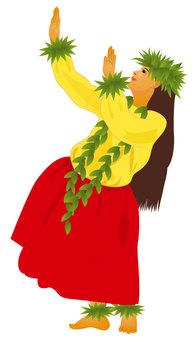 Hula Dance Hula Girl 01