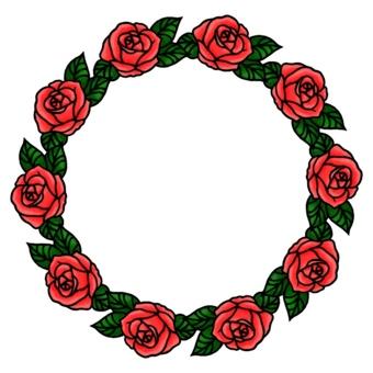花架薔薇2