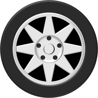 Tire / Wheel (car) ①