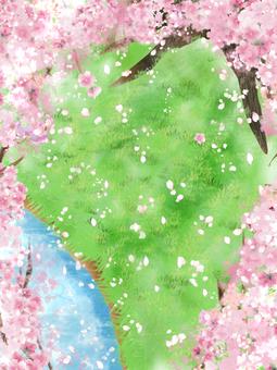 桜舞う隠れ場所