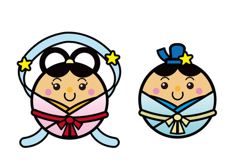 Tanabata 01_02 (Orihime, Hikoshi)