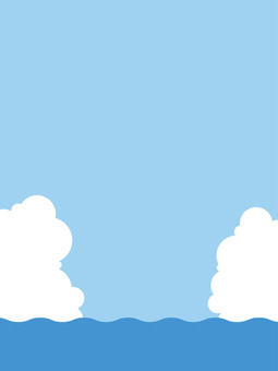 Sea and sky and clouds 2