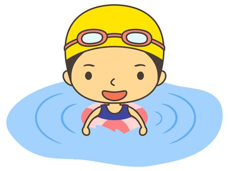 Water Swimming Character B3