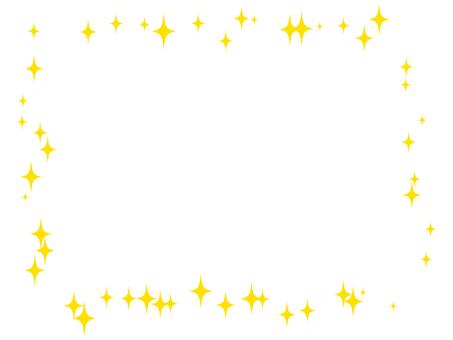 Glitter - Square frame 03