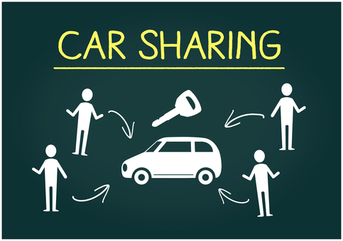 Image of car sharing