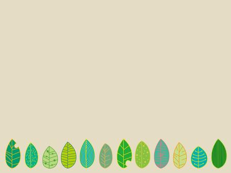 """프레임 """"잎 1"""""""