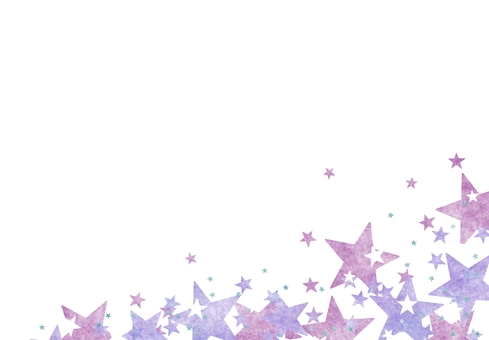 Glitter purple base star space universe wallpaper frame