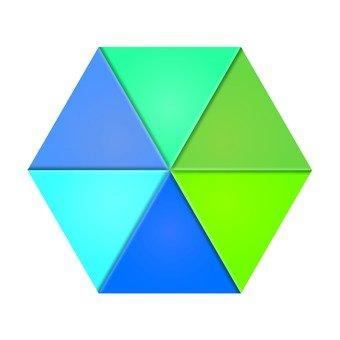 六邊形圖形2