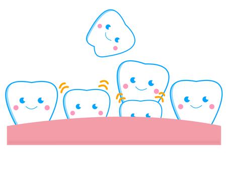 Breast teeth grow instead 2