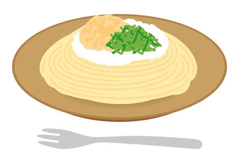 Pasta Japanese style tuna