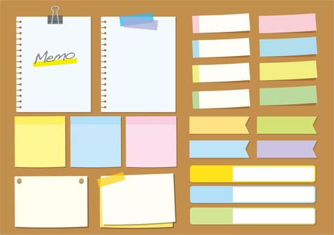Notes · Sticky note set 2