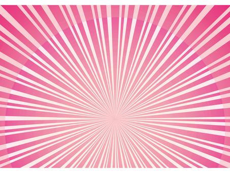 분홍색 연 분홍색 벚꽃 색 사쿠라 색 방사선 집중 선