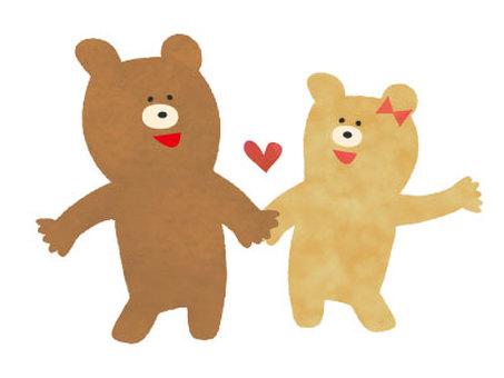 곰 커플 02