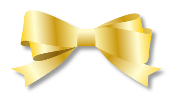 Double ribbon gold 2