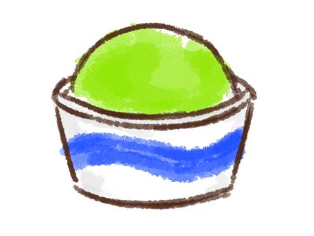Crayon series [cup / melon]
