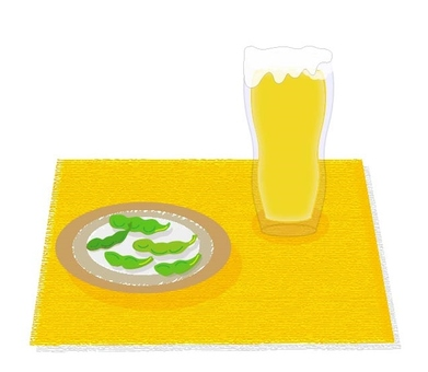 Beer and Edamame - plain