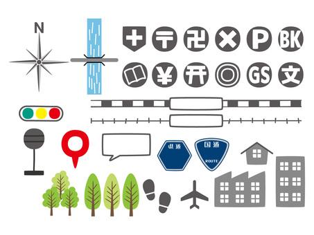 지도 소재 5 / 유형 g / uta