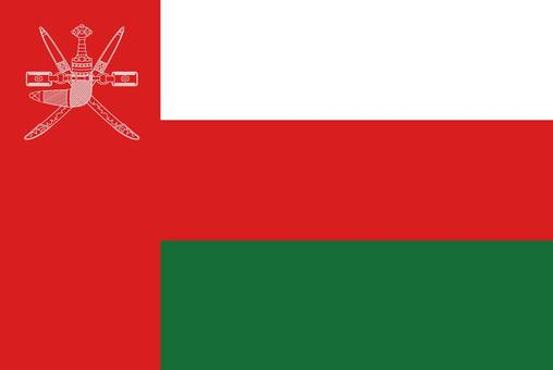 Oman Flag (without name)