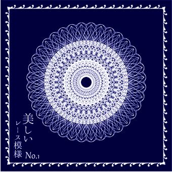 Beautiful lace pattern 1