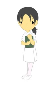 Nurse ___ white
