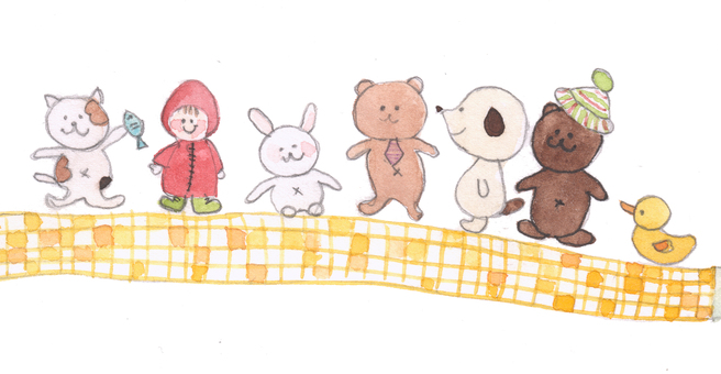 Cute animals illustration 1