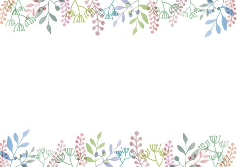 植物のフレーム-4