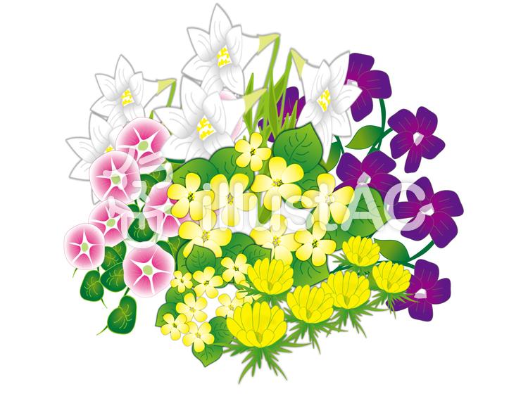 春の花イラスト No 369435brbr無料イラストならイラストac