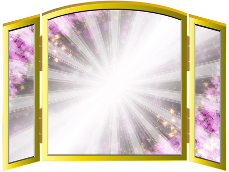 Luxurious cherry blossoms folding screen 08