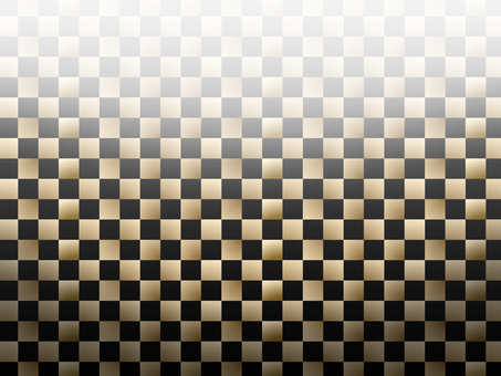 Gold checkered gold and black background