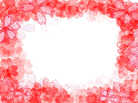 Flower Abstract Frame 1