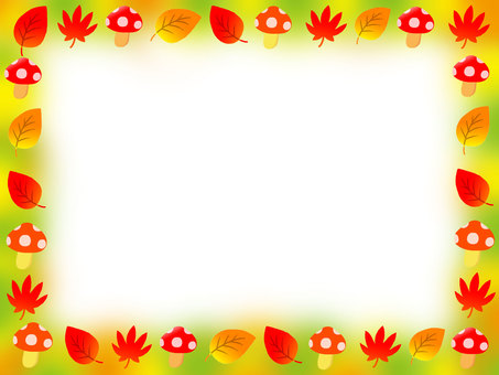 Autumn color frame 2