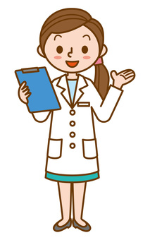 A lady with a medical record